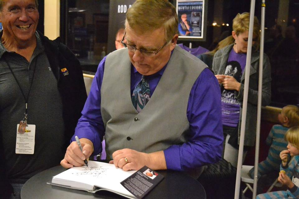 Tucson Mentalist Rod Robison Book Signing