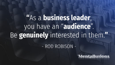 Leadership Skills by Tucson Magician Rod Robison